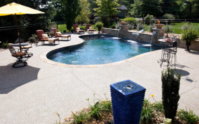5 | Custom Wall with Built In Water Features