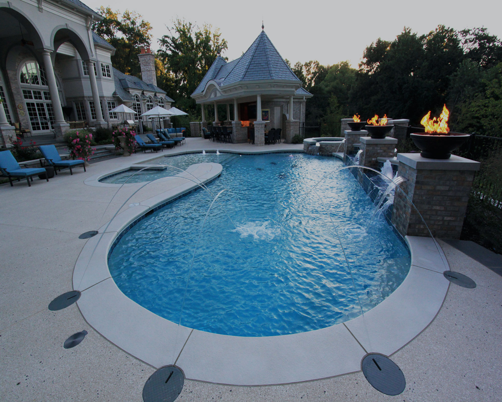 Prestige Pools and Spas St. Louis home pools for backyard