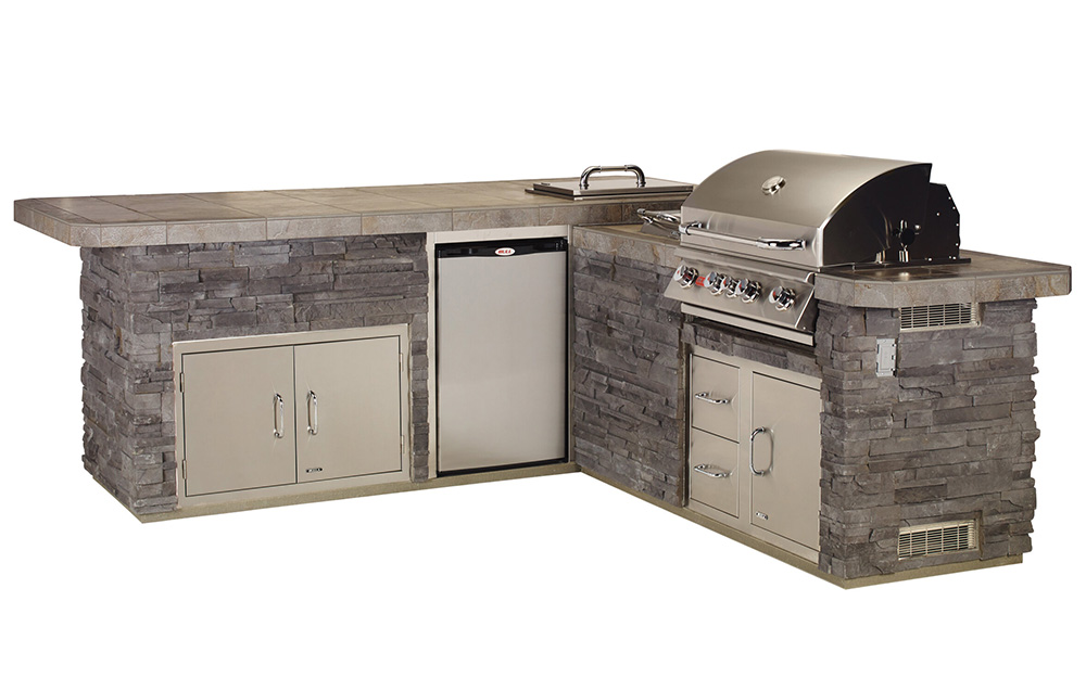 Prestige Pools and Spas St. Louis Outdoor Kitchens BB400