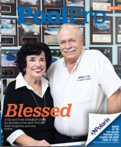 Prestige Pools and Spas St. Louis owners Joan and Fran